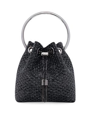 Jimmy Choo Bon Bon Small Drawstring Crossbody-Handbags