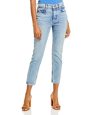 Karolina Ankle Relaxed Skinny Jeans in Lush Life