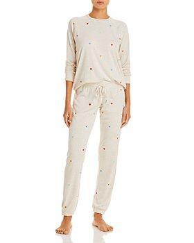 PJ Salvage - Rainbow Hearts Pajama Top & Pajama Pants