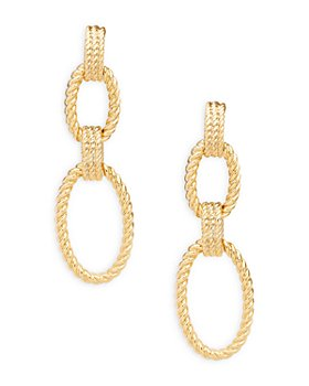 Ralph Lauren - Rope Detailed Double Drop Earrings