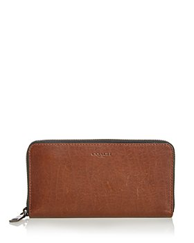 COACH - Leather Continental Wallet