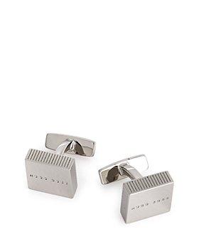 BOSS Hugo Boss - Edward Square Engraved Cufflinks