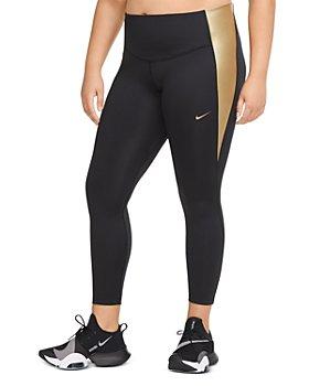 Nike Plus - Metallic Inset Leggings