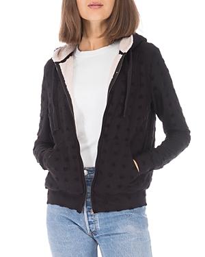 Hooded Jacquard Jacket