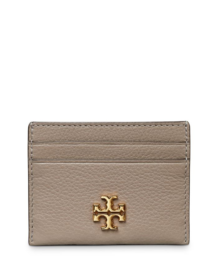 Tory Burch Kira Leather Card Case    Bloomingdale's