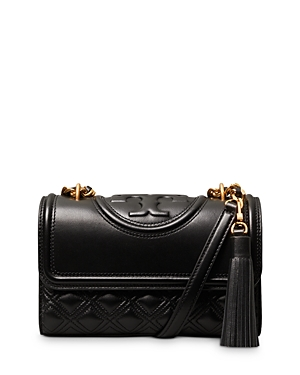 Tory Burch Fleming Small Quilted Leather Convertible Shoulder Bag