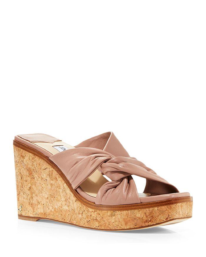 Jimmy Choo - Women's Narisa 90 Platform Wedge Sandals - 100% Exclusive