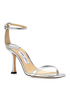 Jimmy Choo - Women's Marin 90 High Heel Square Toe Sandals