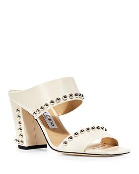 Jimmy Choo - Women's Matty 85 High Heel Square Toe Sandals