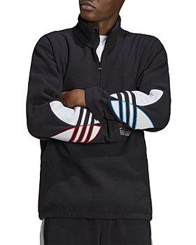 Adidas - Adicolor Tricolor Polar Fleece Half-Zip Sweatshirt