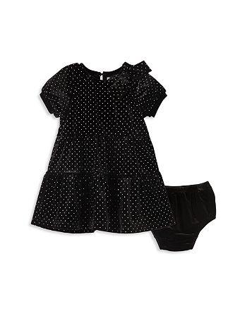 Habitual Kids - Girls' Jasmine Glitter Dotted Dress & Bloomers Set - Baby