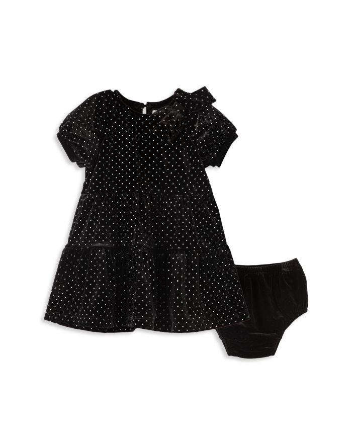 Habitual Kids Girls' Jasmine Glitter Dotted Dress & Bloomers Set - Baby  | Bloomingdale's