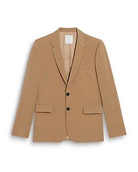 Sandro - Formal Ficelle Virgin Wool Suit Jacket