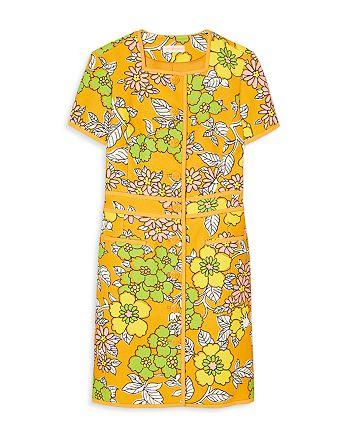 Tory Burch - Nadia Wallpaper Floral Mini Dress
