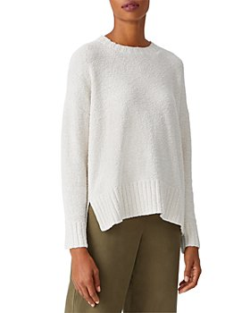 Eileen Fisher - Cotton Crewneck Sweater