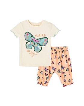 Peek Kids - Girls' Butterfly Pants Set - Baby