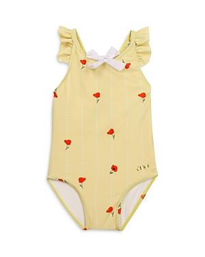 Chloe Girls' Poppies One Piece Swimsuit - Baby