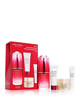 Shiseido - Skin Strengthening & Wrinkle Smoothing Set ($143 value)