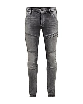 G-STAR RAW - Rackam 3D Skinny Fit Jeans in Faded Seal Grey