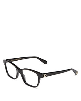 Gucci - Women's Square Clear Glasses, 52mm