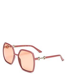 Gucci - Women's Square Sunglasses, 55mm