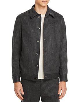 Barena - Secamoro Regular Fit Pinstriped Shirt Jacket