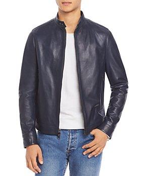 Michael Kors - Leather Racer Jacket
