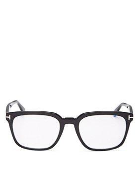 Tom Ford - Men's Square Blue Light Glasses, 53mm
