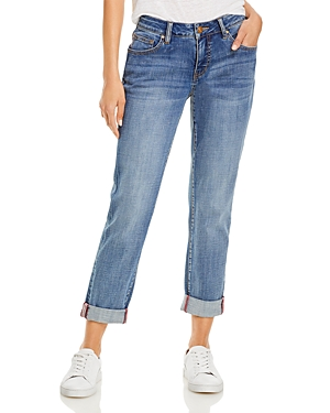 Carter Girlfriend Jeans in Mid Vintage
