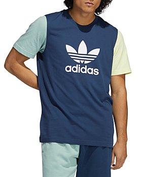 Adidas - Colorblocked Trefoil Tee