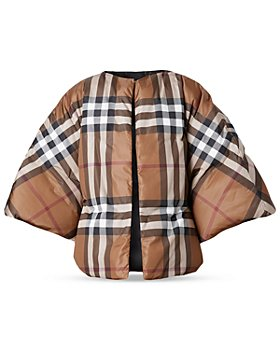 Burberry - Check Convertible Cape