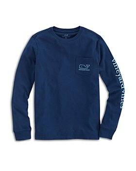 Vineyard Vines - Boys' Long Sleeve Glow in the Dark Tee, Little Kid, Big Kid - 100% Exclusive
