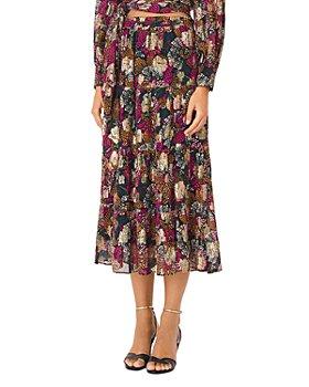ba&sh - Lana Printed Midi Skirt