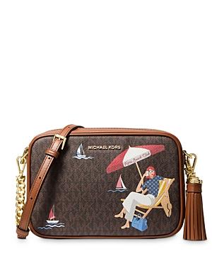 Michael Michael Kors Jet Set Medium Camera Bag