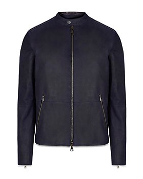 John Varvatos Collection - Sheepskin Leather Jacket