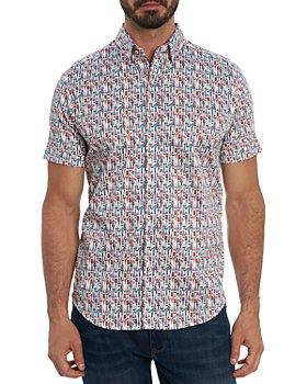 Robert Graham - Bottoms Up Tailored Fit Short Sleeve Shirt