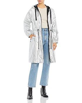 DUALIST - Maxima Hooded Reversible Metallic Coat
