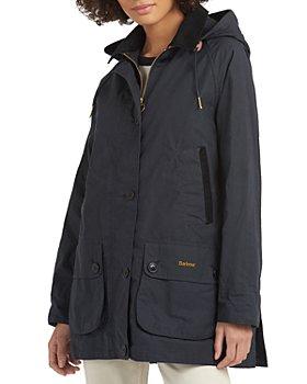 Barbour - Delvingne Hooded Waterproof Mid-Length Anorak
