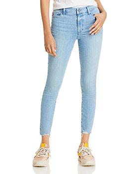 PAIGE - Hoxton Frayed Hem Jeans in Jama