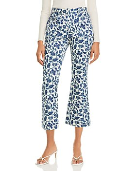 Derek Lam 10 Crosby - Laurie Cropped Flare Pants