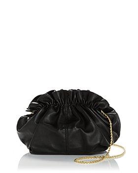 Loeffler Randall - Willa Small Leather Cinch Clutch