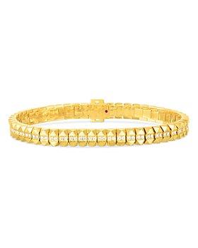 Roberto Coin - 18K Yellow Gold Obelisco Diamond Bracelet