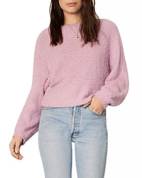 cupcakes and cashmere - Perri Bouclé Rib Knit Dolman Sweater