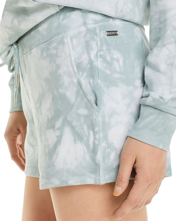MARC NEW YORK Shorts PERFORMANCE TIE DYED FRENCH TERRY SHORTS
