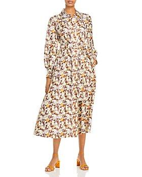 Tory Burch - Artist Silk Printed Shirt Dress