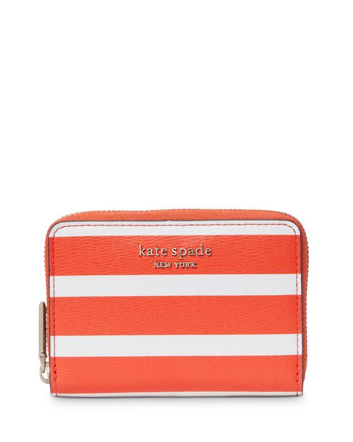 Kate spade new york Spencer Leather Zip Card Case  | Bloomingdale's