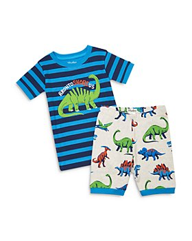 Hatley - Boys' Cotton Friendly Dinos Printed Pajama Set - Little Kid, Big Kid