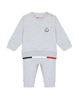 Moncler - Boys' Cotton Blend Sweatsuit Set - Baby