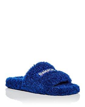 Balenciaga - Men's Furry Campaign Slide Sandals