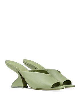 Salvatore Ferragamo - Women's Slip On High Heel Sandals